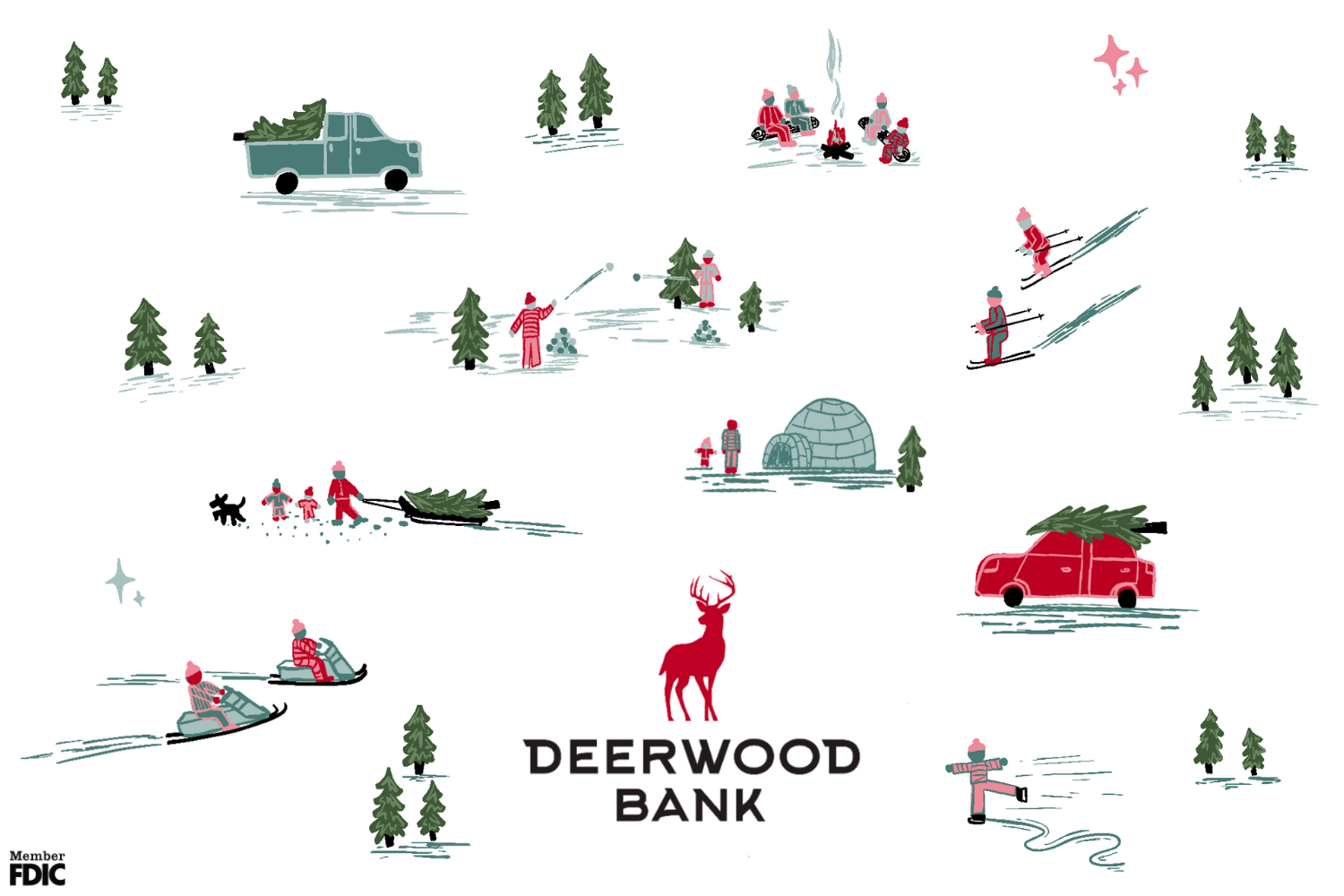 Happy Holidays from Deerwood Bank