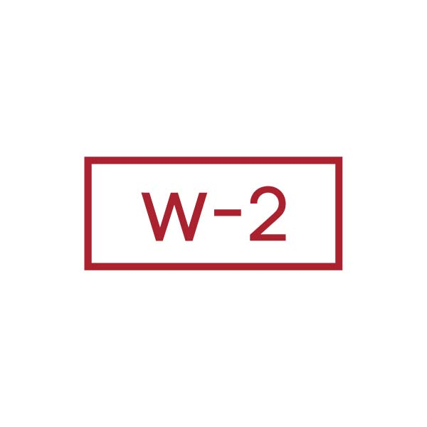Two Recent Years of W-2's