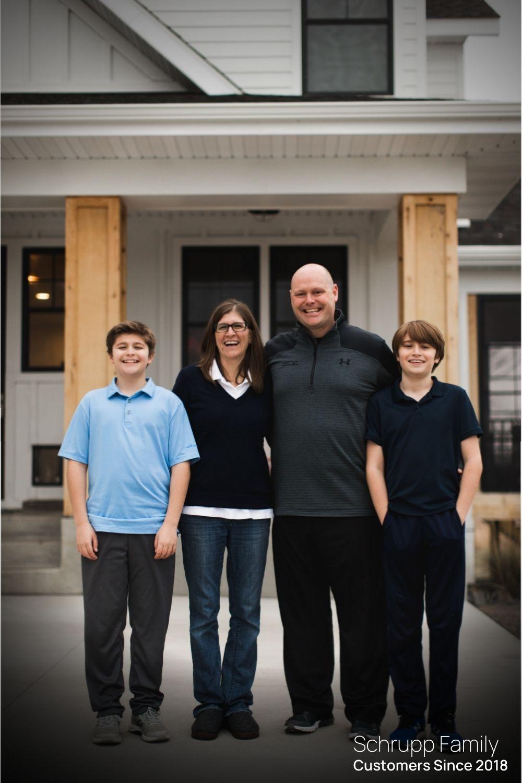 Schrupp Family. Deerwood Bank Customers since 2018