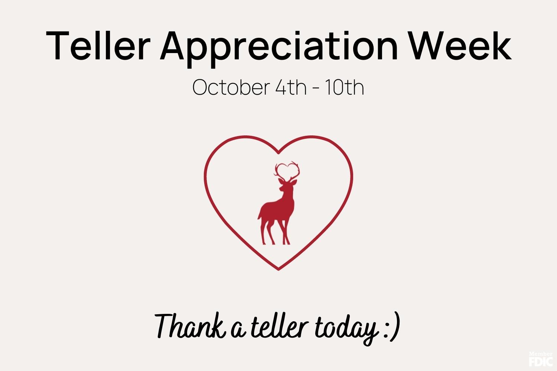 Teller Appreciation Week